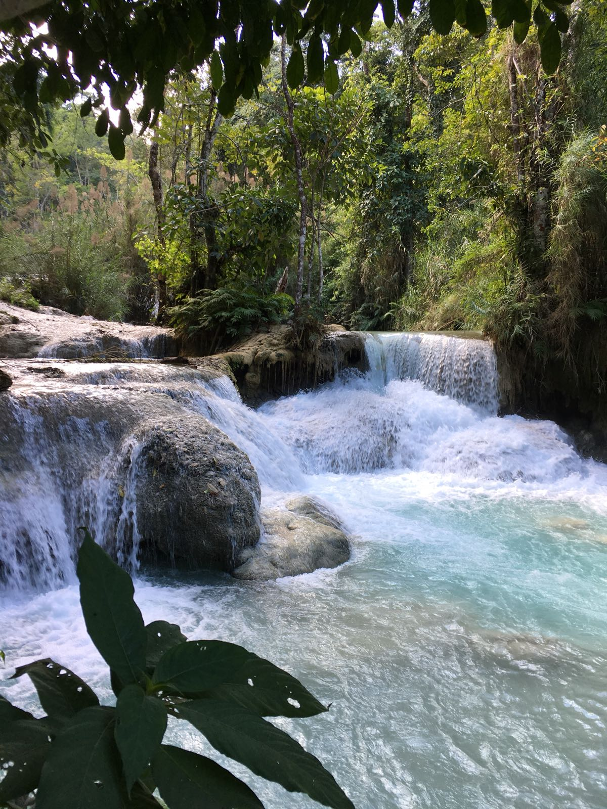 Laos – Tad Kuang Xi: mit dem Motorroller zu den Wasserfällen
