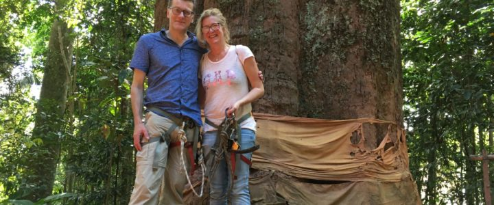 Alina und Dieter: als Backpacker in Laos