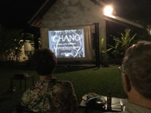 Chang im Open Air Kino in Luang Prabang © 2017