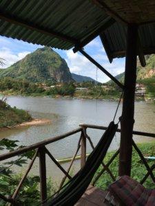 In Nong Kiao haben wir direkt an Nam Ou gewohnt. © 2017