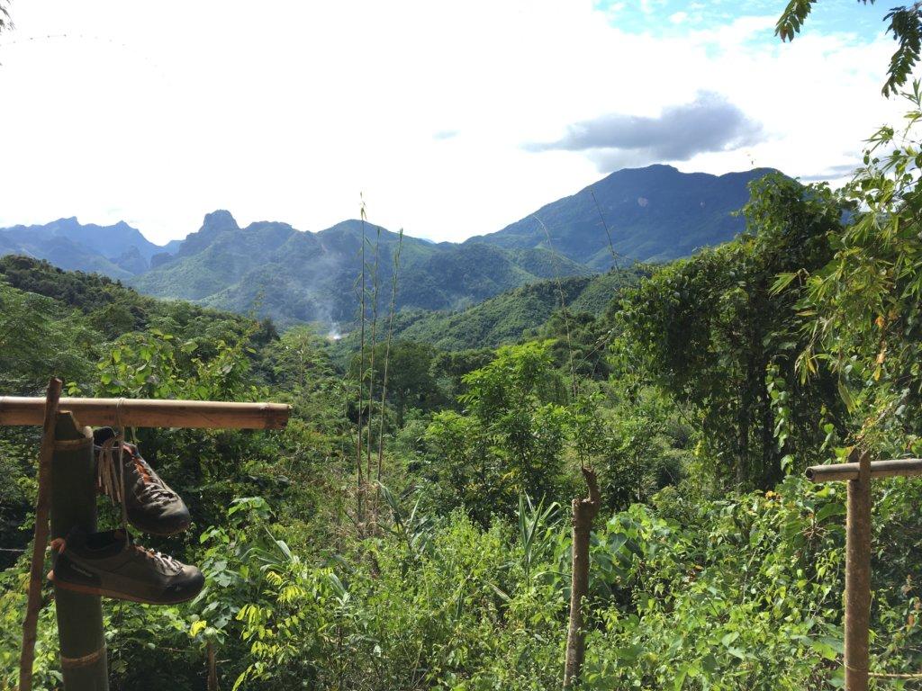 Auf dem Gipfel der 100 Wasserfälle Tour gibt es zur Belohnung noch diesen Ausblick. © 2017
