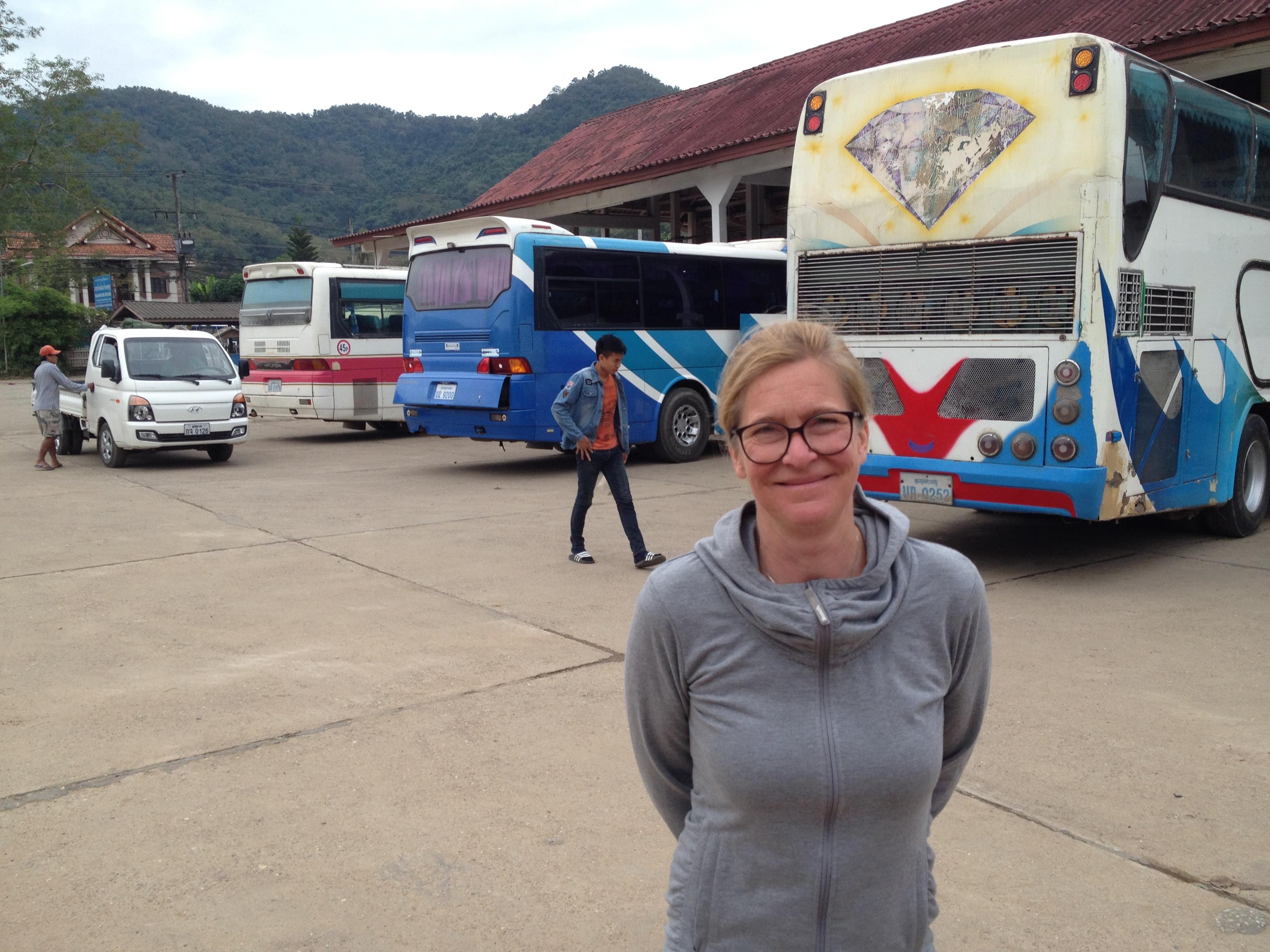 Der große Bus war deutlich bequemer als der Minibus am Tag vorher © 2017