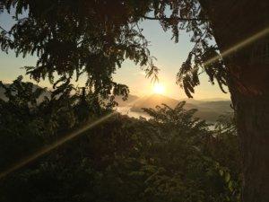 Sonneuntergang in Luang Prabang © 2017