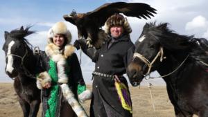 TV Programm 14.3. : Vanesse Müller auf ihrer Traumreise in die Mongolei. © 2018 (Burkhard Vorländer)